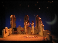 Monsieur Monde- théâtre lumière