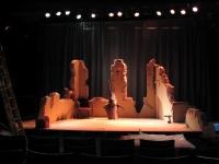 décor Monsieur Monde- théâtre lumière