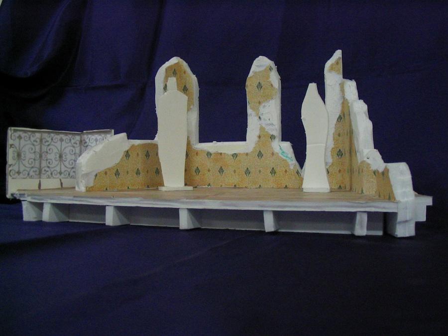 maquette M.Monde (1)- théâtre lumière