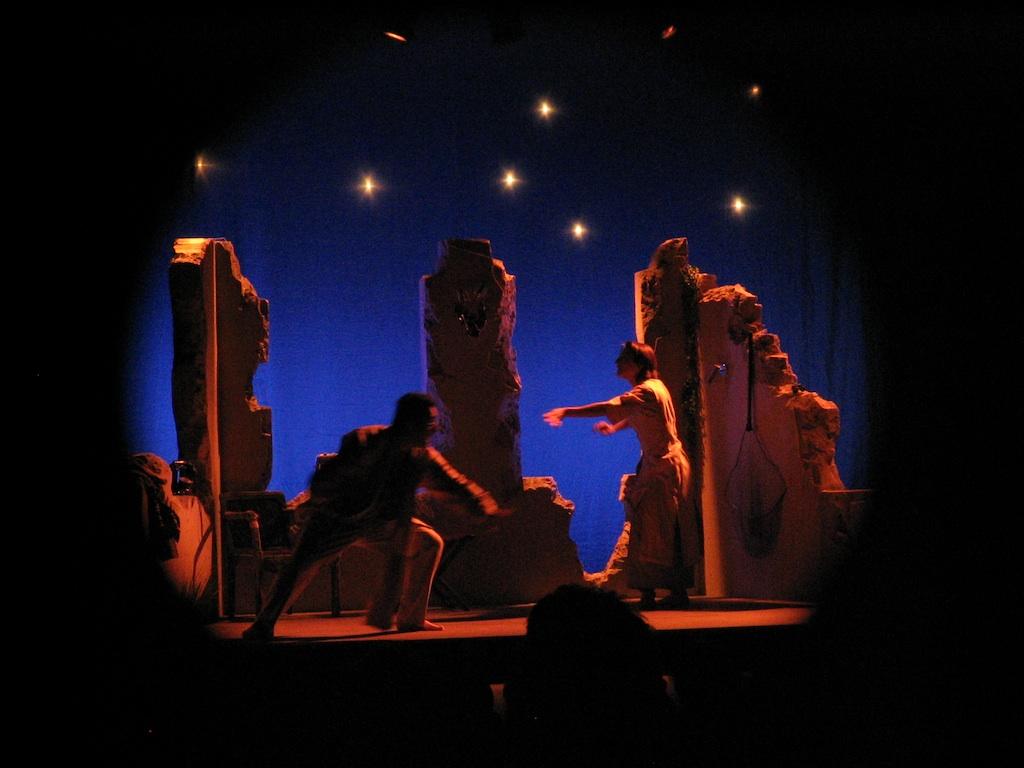 M.Monde- théâtre lumière