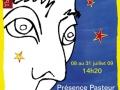 affiche Prévert pour Vivre- théâtre lumière