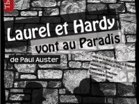 affiche Laurel et Hardy- théâtre lumière