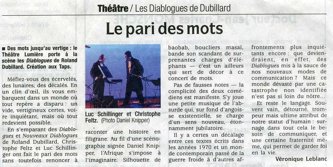 diablogues- théâtre lumière