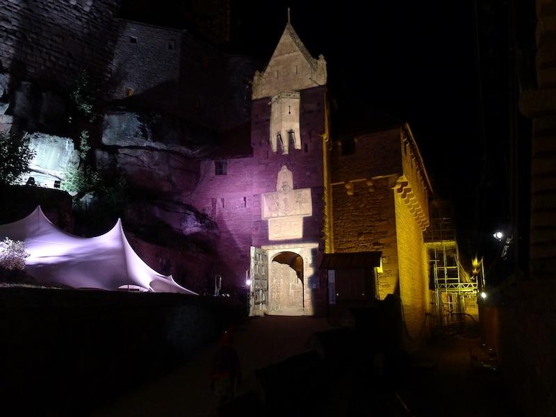 chateau du Haut Koenigsbourg-lice sud