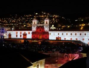 Église San Francisco, Quito 2018