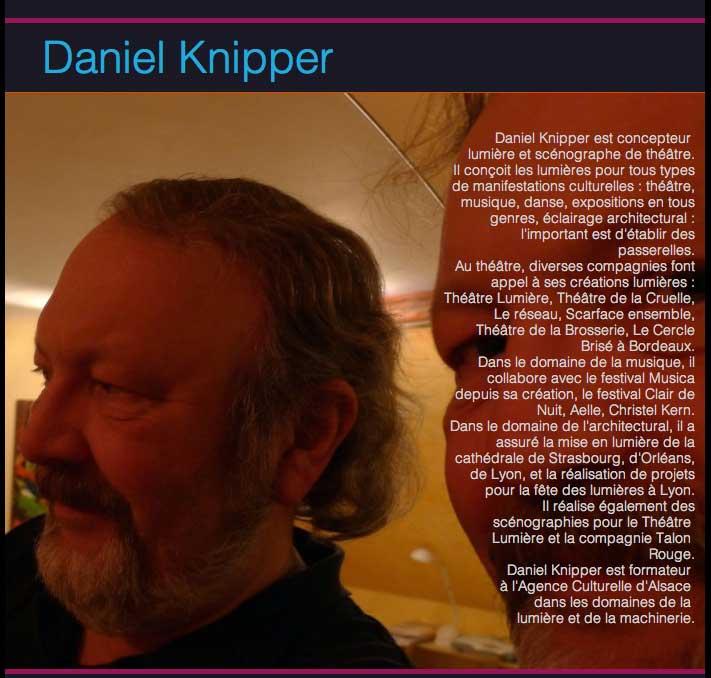présentation Daniel Knipper artiste invité