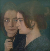 La femme de l'artiste