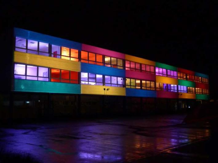 Illumination du Lycée de Bischwiller